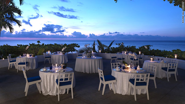 Jamaica's Round Hill Resort offers beautiful ocean views.