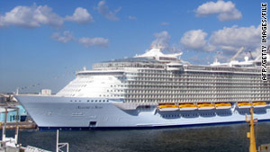 A passenger on a Caribbean cruise was arrested for allegedly selling drugs on board.
