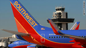 A telecommunications glitch caused delays of less than an hour for some Southwest Airlines flights Tuesday night.