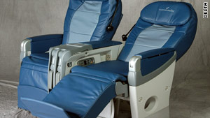 Delta's cradle-style seats are being replaced by the latest upgrades.