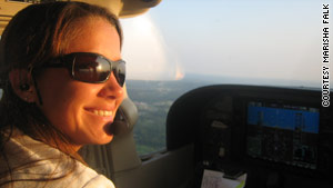 Embry-Riddle Aeronautical University pilot instructor Marisha Falk says NextGen GPS-based technology saved her life.