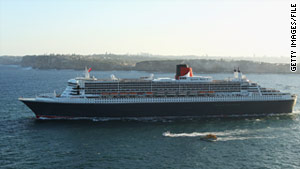 Cunard's Queen Mary 2 was headed to Nagasaki Friday after the devastating earthquake.