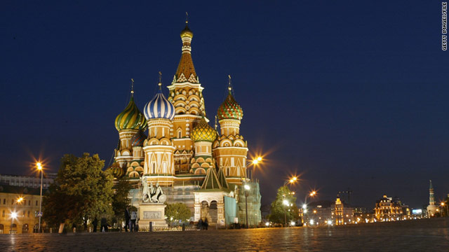 St. Basil's Cathedral on Red Square is perhaps Moscow's most iconic sight.