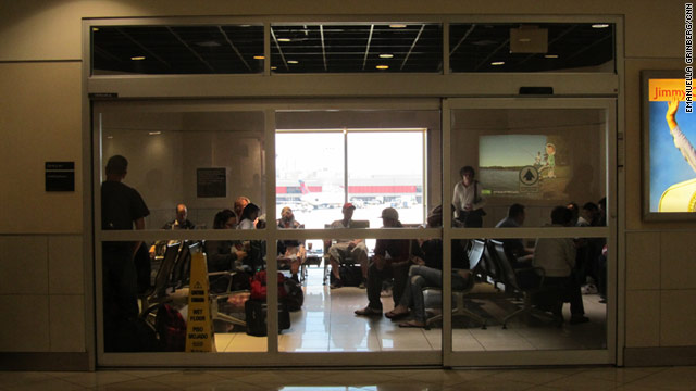 Airport smoking lounges continue to represent tension between those who detest the habit and those who can't stop.