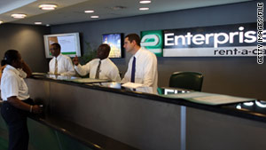 Enterprise, Alamo and National rental cars won't be listed on Orbitz after April 1.