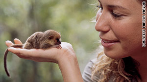 In 2001, Mireya Mayor discovered the mouse lemur, the world's smallest primate, in Madagascar.