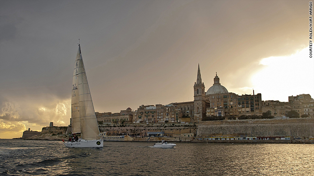 Nearly all of you guessed correctly. The port city of Valletta, Malta, is pictured.