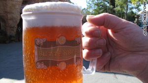 The park's popular Butterbeer received author J.K. Rowling's stamp of approval.