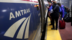 Spring break is not usually a busy time for Amtrak, a company spokesman says.