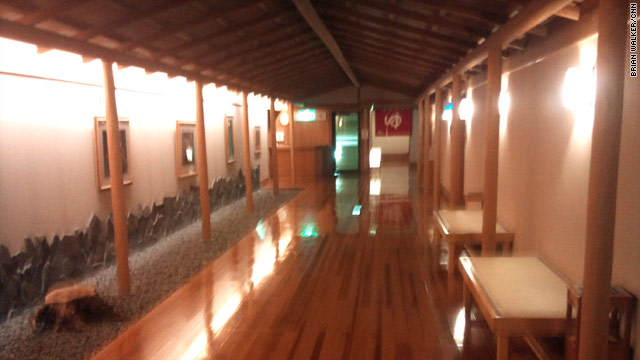 The empty rooms at Osawa's Sansuikan hotel are an indication of the pain being felt by the tourism industry in Japan.