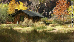 Phantom Ranch is the only lodge located below the Grand Canyon rim.