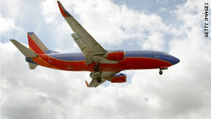 A Southwest Airlines B-737 ruptured during a flight on April 1. The plane made an emergency landing in Yuma, Arizona.