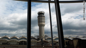 Three air traffic controllers have been fired for sleeping on the job.