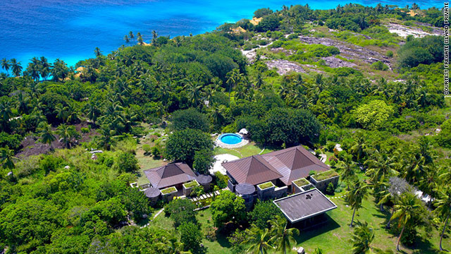 Fregate Island Private is just one of several possibilities for the royal couple's honeymoon in the Seychelles.