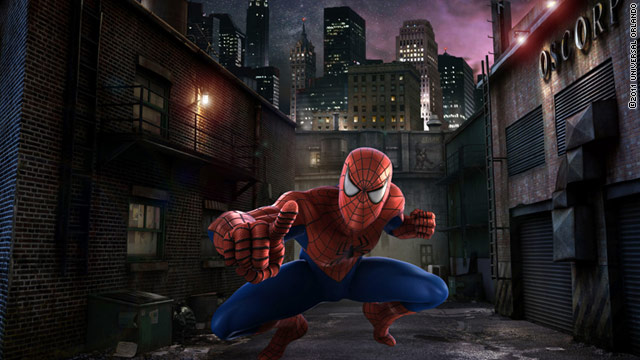 """The Amazing Adventures of Spider-Man"" at Universal Orlando will be reanimated in digital high definition."