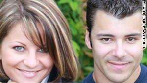 Caroline Marie Vedovati, 24, and her husband Sebastian Vedovati, 34, were lost in the 2009 crash over the Atlantic.