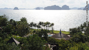 "The Phulay Bay Resort and Krabi Ritz Carlton are featured in ""The Hangover Part II."""