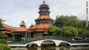 Muang Boran features classic Thailand architecture.