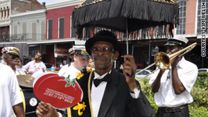 It doesn't get more New Orleans than the French Market's Creole Tomato Festival.
