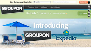 Want to get in on the deals? Sign up at Expedia or at groupon.com/getaways.
