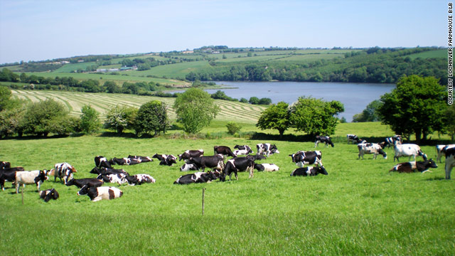 Agritourism has been popular in Europe since the 1990s at locations like Lochinver Farmhouse, near Cork, Ireland.