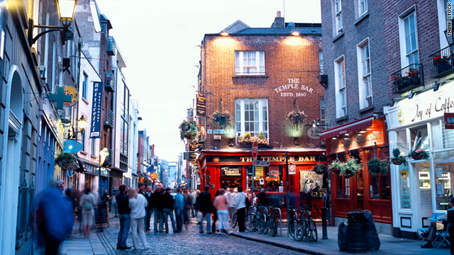 Explore Temple Bar during the day, before the drunken tourists in green face paint arrive.