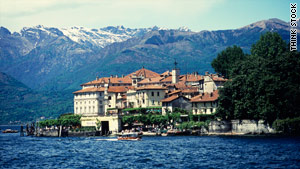Isola Bella on Lake Maggiore is a popular tourist spot in Italy's Lake District.