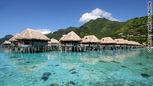 Sofitel Moorea la Ora Beach Resort is among the French Polynesia resorts that offer overwater bungalows.