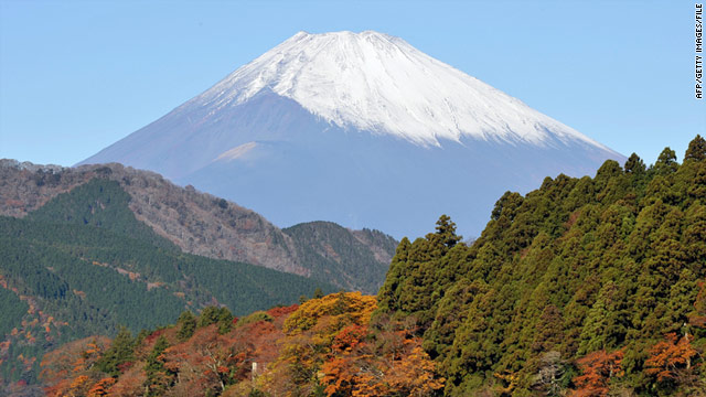 Unless you want to wait in line on the trail, consider climbing Mount Fuji in the off season.