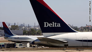 Satisfaction with Delta Air Lines dropped by 10%, according to a national customer satisfaction index.