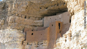 Montezuma Castle National Monument is in Arizona.