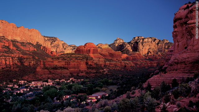 Enchantment Resort, in Boynton Canyon outside Sedona, Arizona, combines New Age luxury with jaw-dropping scenery.