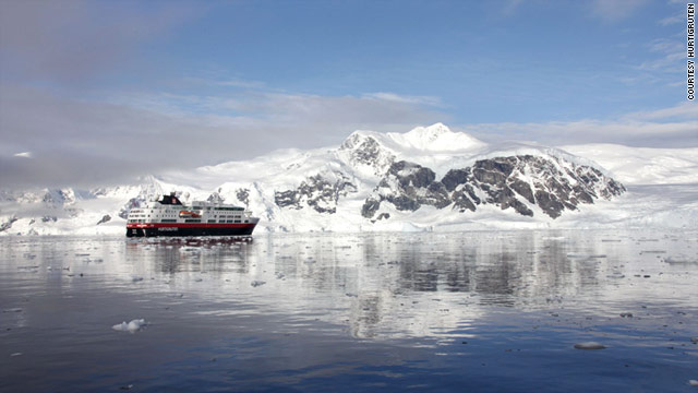 A cruise through the Arctic promises beautiful views of pristine glaciers and icebergs.
