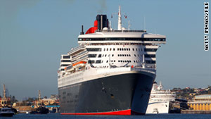 Cunard's Queen Mary 2 offers regularly scheduled transatlantic crossings between New York and Southampton.
