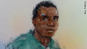 Olajide Oluwaseun Noibi, 24, could get a maximum 15-year prison term.