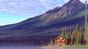 Iniakuk Lake Wilderness Lodge is 60 miles north of the Arctic Circle.