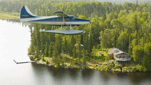 Nestor Falls Fly-In Outposts is one of a handful of resorts reachable only by plane.