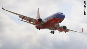 FBI agents met the Southwest Airlines flight when it landed in Salt Lake City.