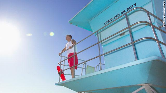 One lifeguard says he and his collegues work harder than people think.
