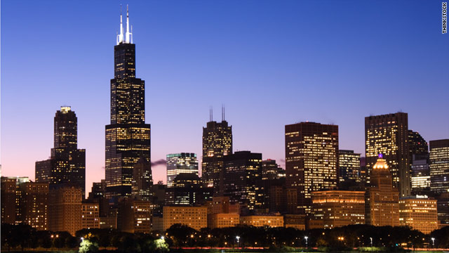 Chicago topped the list of the five highest-tax imposing cities on travelers.