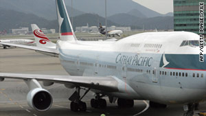 Cathay Pacific has delayed an ad campaign after explicit crew member photos surfaced.