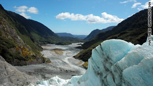 The Franz Josef Glacier, located on the South Island?s west coast, is one of the most accessible glaciers on Earth.