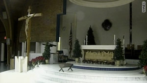 Individuals who received communion at two Christmas Masses at Our Lady of Lourdes Church may be at risk.
