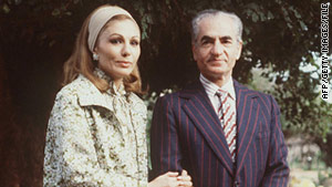 Mohammed Reza Pahlavi and his wife, Farah, a few days after leaving Iran in 1979.