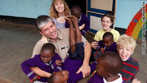 Doral Chenoweth III, his wife, Robin, and their children Cassie and Kurtis went on a personal mission trip to Tanzania.