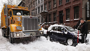 New Yorker's criticized the city's management of last month's heavy snowfall.