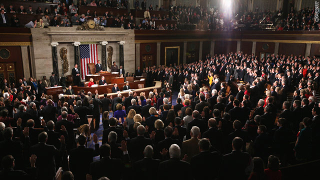 The 112th U.S. Congress was sworn-in on January 5, 2011. Republican legislators took control of the House of Representatives.