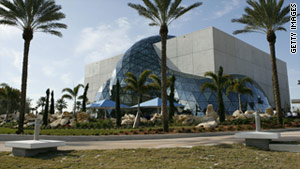 The new Dali Museum in St. Petersburg features 2,140 pieces, including 96 oil paintings.