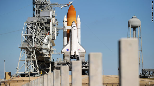 NASA engineers hope to have space shuttle Discovery ready for a possible launch in late February.