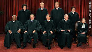 Some justices have wondered how to decide the case in the face of the government's broad claims of executive power.